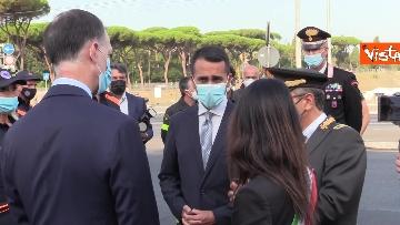 8 - Attentati dell'11 settembre, Di Maio e Raggi alla cerimonia per i 20 anni a Roma. Le foto