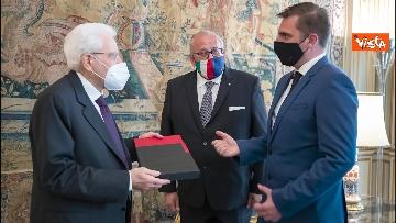 3 - Mattarella riceve i sindaci di Gorizia e Nova Gorica, le immagini