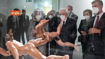 4 - Mattarella inaugura la mostra