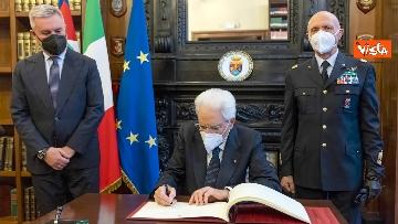 2 - Mattarella interviene alla cerimonia dell'Anno Accademico degli Istituti di Formazione della Difesa