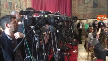 2 - Emma Bonino incontra la stampa dopo il colloquio con Giuseppe Conte
