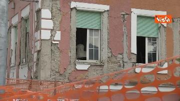 9 - Commemorazione vittime Amatrice, le immagini della città distrutta dal terremoto del 2016