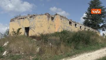 11 - Commemorazione vittime Amatrice, le immagini della città distrutta dal terremoto del 2016