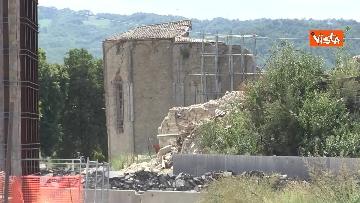 12 - Commemorazione vittime Amatrice, le immagini della città distrutta dal terremoto del 2016