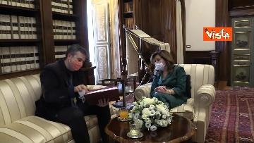 10 -  La presidente del Senato Casellati incontra il direttore della Agenzia Vista Alexander Jakhnagiev. Le foto