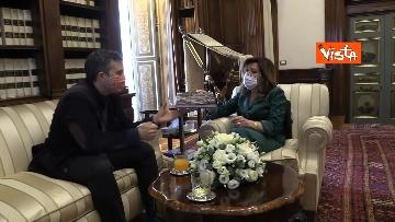 5 -  La presidente del Senato Casellati incontra il direttore della Agenzia Vista Alexander Jakhnagiev. Le foto