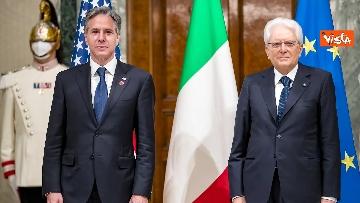 4 - Il Presidente Mattarella riceve il segretario di Stato Usa Blinken