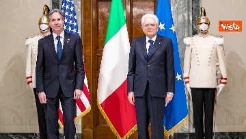 1 - Il Presidente Mattarella riceve il segretario di Stato Usa Blinken