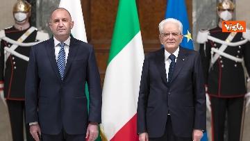 6 - Mattarella riceve il Presidente della Repubblica della Bulgaria