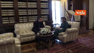 1 -  La presidente del Senato Casellati incontra il direttore della Agenzia Vista Alexander Jakhnagiev. Le foto