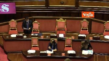 10 - Informativa del ministro Di Maio nell'aula del Senato. Le foto