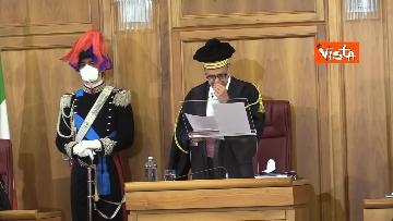 7 - Parificazione del Rendiconto generale dello Stato alla Corte dei Conti. Le foto