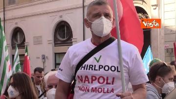 1 - Cgil, Cisl e Uil in piazza contro i licenziamenti. Le foto della manifestazione a Montecitorio