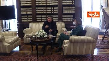 2 -  La presidente del Senato Casellati incontra il direttore della Agenzia Vista Alexander Jakhnagiev. Le foto