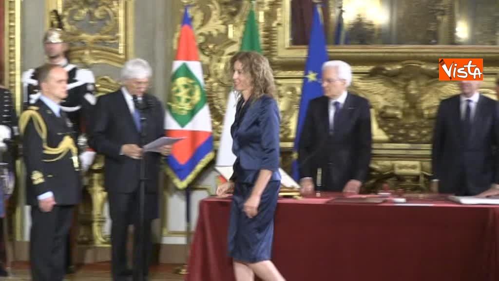 01-06-18 Il giuramento di Stefani, Ministro agli affari regionali_02