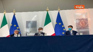7 - Green pass lavoratori, conferenza stampa con i ministri Orlando, Brunetta e Speranza. Le foto