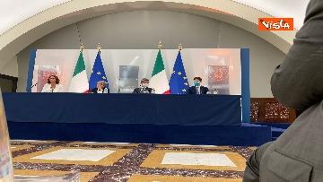 8 - Green pass lavoratori, conferenza stampa con i ministri Orlando, Brunetta e Speranza. Le foto