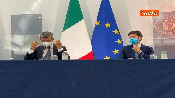 3 - Green pass lavoratori, conferenza stampa con i ministri Orlando, Brunetta e Speranza. Le foto