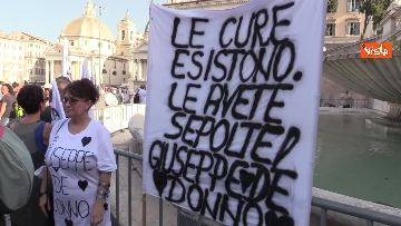 5 - No al Green pass, la protesta a Piazza del Popolo a Roma. Le foto