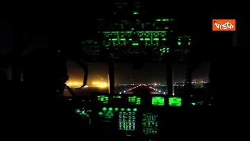 2 - Aquila Omnia, conclusa evacuazione profughi. Le immagini dell'ultimo volo da Kabul