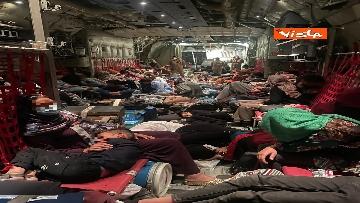 5 - Decolla l'ultimo velivolo da Kabul, conclusa la missione ventennale della Difesa in Afghanistan