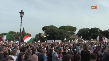 8 - Protesta contro il green pass a Piazza San Giovanni a Roma. Le foto