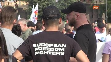 9 - Protesta contro il green pass a Piazza San Giovanni a Roma. Le foto
