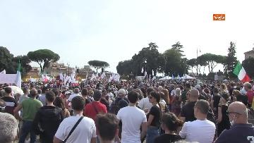 3 - Protesta contro il green pass a Piazza San Giovanni a Roma. Le foto