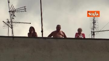 4 - Salvini e Michetti visitano il quartiere romano di Casale Caletto. Le foto