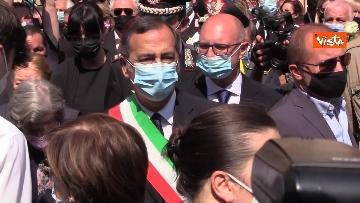 5 - L'ultimo saluto a Carla Fracci nella sua Milano, ai funerali anche il ministro Franceschini e il sindaco Sala