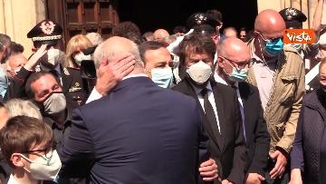 6 - L'ultimo saluto a Carla Fracci nella sua Milano, ai funerali anche il ministro Franceschini e il sindaco Sala