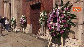 3 - L'ultimo saluto a Carla Fracci nella sua Milano, ai funerali anche il ministro Franceschini e il sindaco Sala