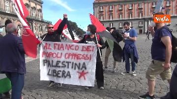 11 - In migliaia a Napoli sfilano a sostegno del popolo palestinese