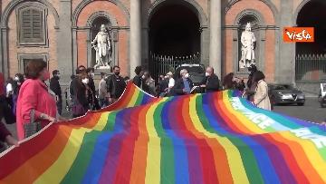4 - In migliaia a Napoli sfilano a sostegno del popolo palestinese