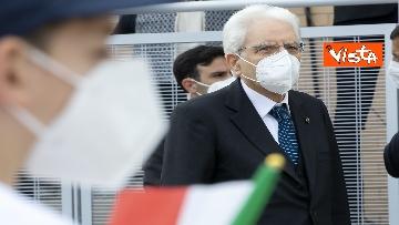 """3 - Il Presidente della Repubblica in visita all'Istituto Fiume Giallo per la resentazione de """"Il mio diario"""" per l'anno scolastico 2021/2022"""