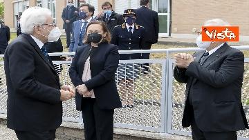 """2 - Il Presidente della Repubblica in visita all'Istituto Fiume Giallo per la resentazione de """"Il mio diario"""" per l'anno scolastico 2021/2022"""