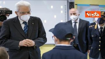 """5 - Il Presidente della Repubblica in visita all'Istituto Fiume Giallo per la resentazione de """"Il mio diario"""" per l'anno scolastico 2021/2022"""